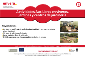 Proyecto Semilla Jardineria