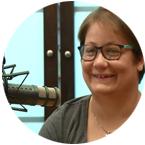 Clara, usuaria del Centro Ocupacional de envera