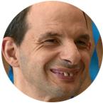 Rubén, usuario de residencia envera