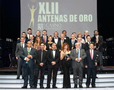 Grupo envera recibe la Antena de Oro