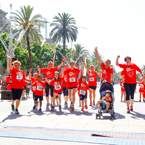 Grupo envera participa en la carrera de The Family Run de Barcelona