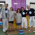 Deportistas de Grupo envera y empleados de Salesforce, unidos en la campaña 'Crea espacios para el deporte', a favor del deporte como inclusión social.