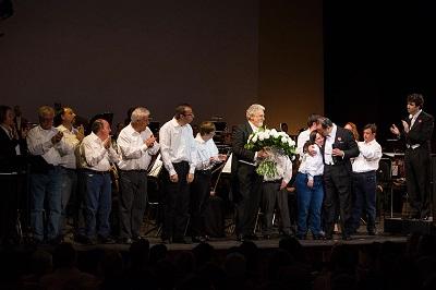 """Plácido Domingo: """"Estamos felices. Hay que repetir este concierto por Envera"""""""
