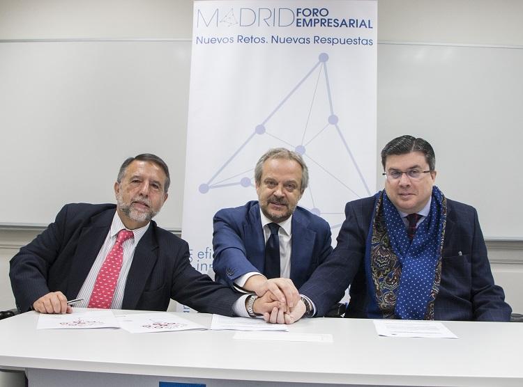 Envera, Madrid Foro Empresarial y FAMMA – Cocemfe firman un convenio de colaboración para impulsar la RSC
