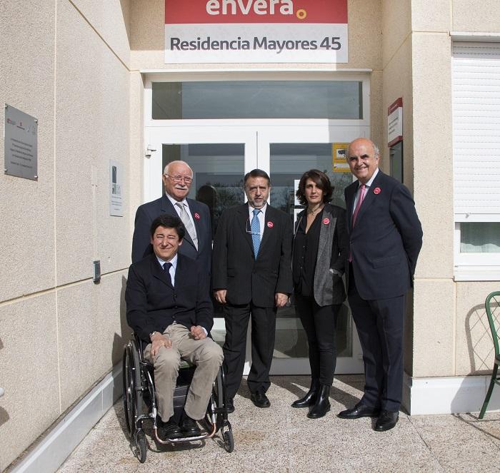 El Director General de Políticas de Apoyo a la Discapacidad visita el Centro Integral de Envera