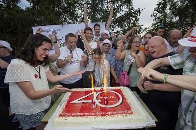Celebramos con una gran fiesta  40 años de conquistas sociales