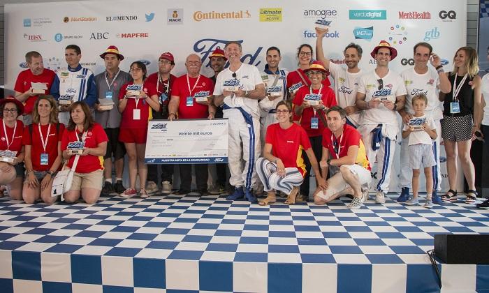El equipo de Envera sube al podio en las 24 Horas Ford