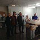El Director del Área Técnica de Producción de RBA visita el centro de Grupo envera en Barcelona
