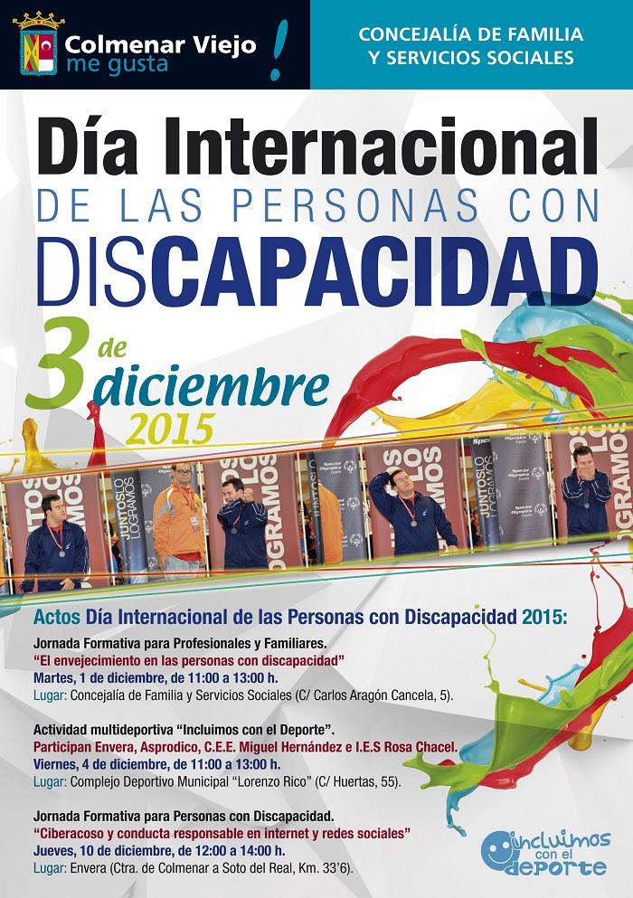 Día internacional de las personas con discapacidad. 3 diciembre