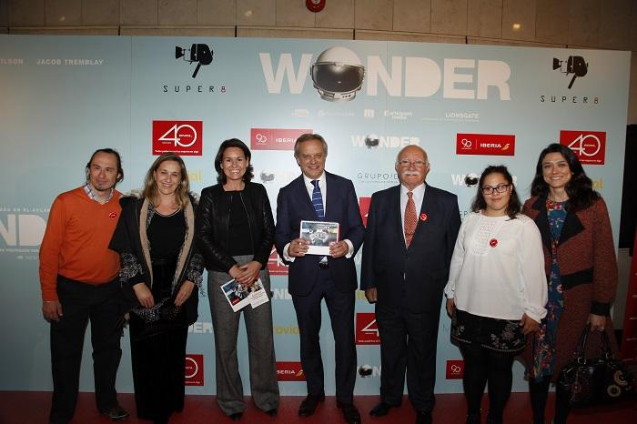 Envera celebra la fiesta de la inclusión con la premiere de la película Wonder en Madrid
