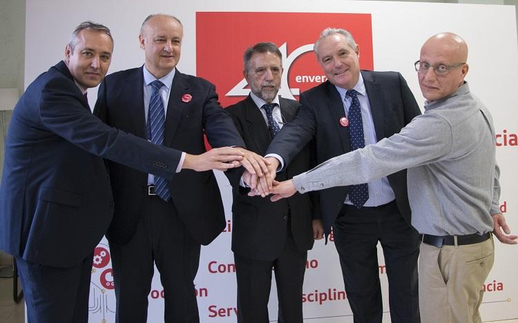 El grupo G-18 apoya la labor de Envera con una donación de 10.000 euros