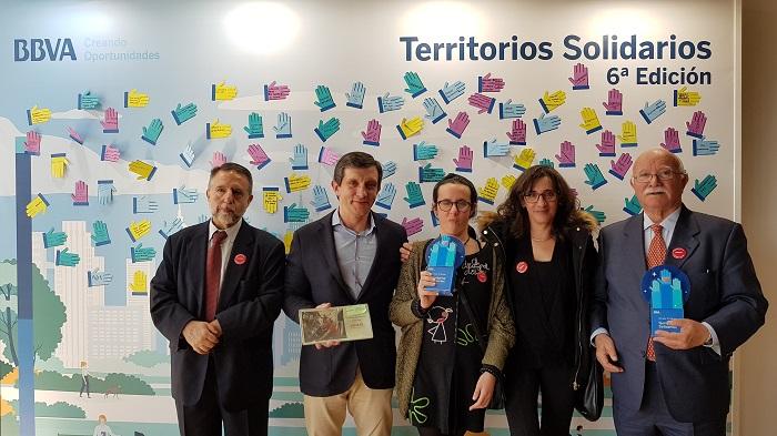 """El proyecto """"Movilidad sin límites"""" de Envera recibe el premio Territorios Solidarios de BBVA"""