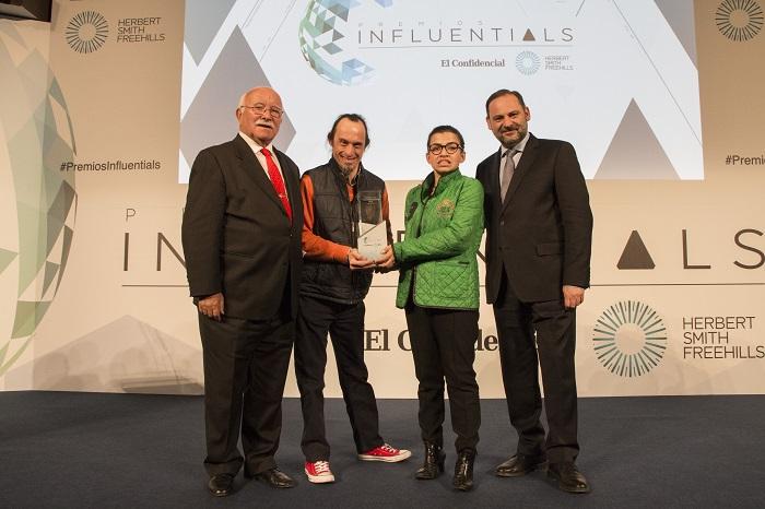Envera, premio a la Sostenibilidad en los Premios Influentials