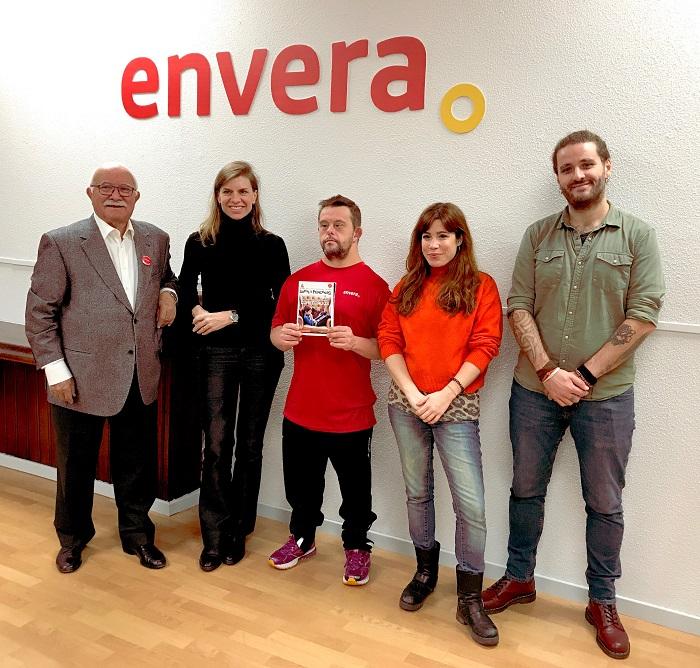 El medio de comunicación Sapos y Princesas y Envera firman un acuerdo para fomentar la integración de niños con discapacidad intelectual y sus familias