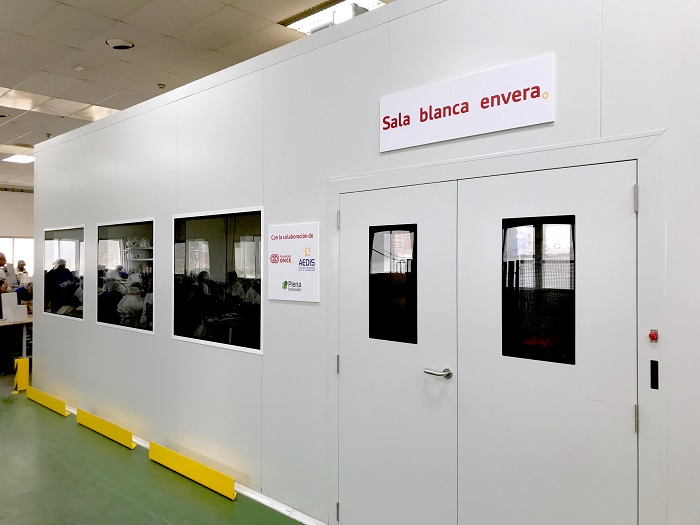Creación de empleo: Envera pone en marcha su nueva sala blanca