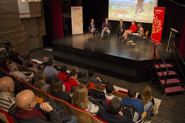 """""""El vuelo de Michael"""", protagonista en el Día Internacional de las Personas con Discapacidad"""