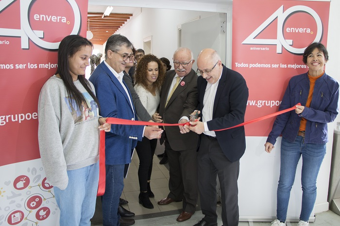 El presidente del Cabildo de Gran Canaria inaugura el nuevo Centro Ocupacional de Envera para personas con discapacidad intelectual