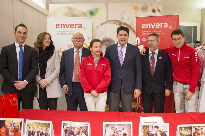 Alumnos con discapacidad intelectual de Envera realizarán prácticas en la Consejería de Vivienda de la Comunidad de Madrid