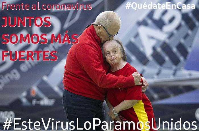 Juntos somos más fuertes (que el coronavirus)