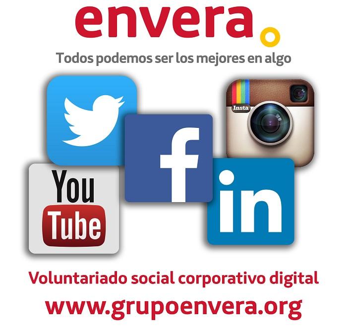 Envera lanza su voluntariado social corporativo digital