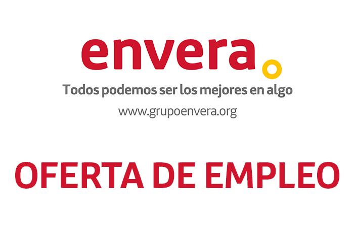 Oferta de empleo: Envera selecciona 133 personas con discapacidad para auxiliar de información