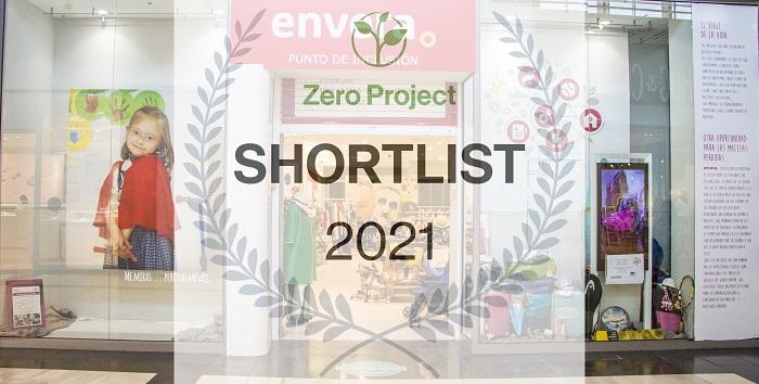 Envera, finalista en los Zero Project Awards en representación de España