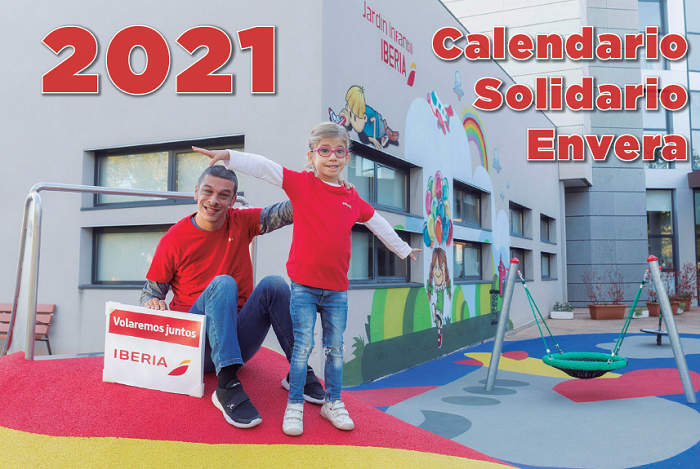 Envera presenta su Calendario Solidario 2021 en reconocimiento al sector aeronáutico