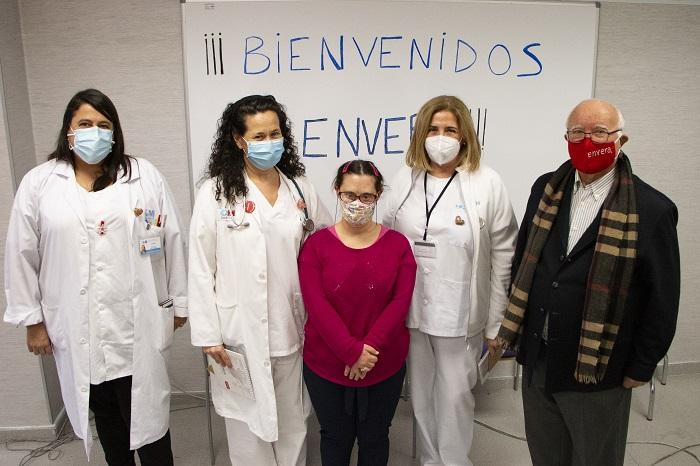 'Gracias por cuidarnos frente al COVID-19'. El homenaje de las personas con discapacidad intelectual a los sanitarios