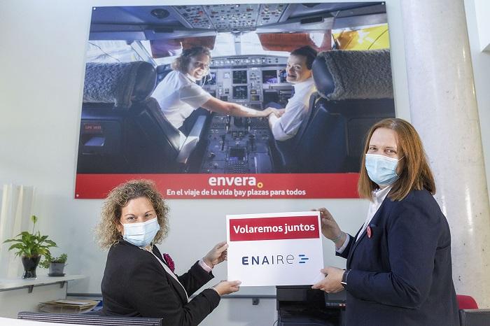 Noventa personas con discapacidad consiguen un empleo gracias al Proyecto ENAIRE de Envera