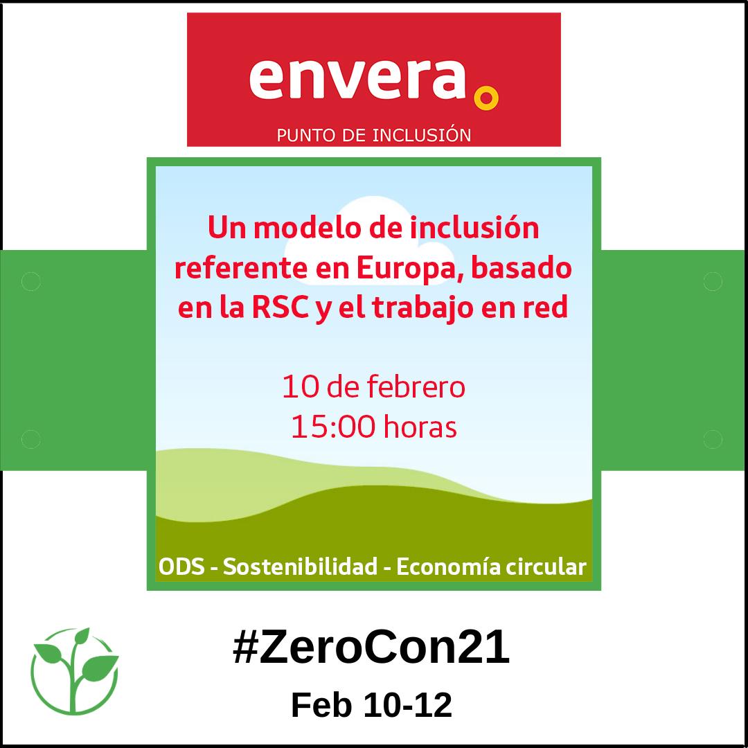 """""""Envera Punto de Inclusión"""" representa a España en la Conferencia Zero Project"""
